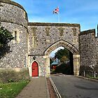 """"""" The Gate House to Arundel Castle"""" by Malcolm Chant"""