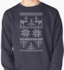 nordisches Strickmuster Sweatshirt