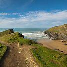 Beacon cove Cornwall by eddiej