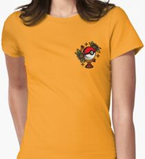 Traditional Pokeball Tattoo Piece Women's Fitted T-Shirt