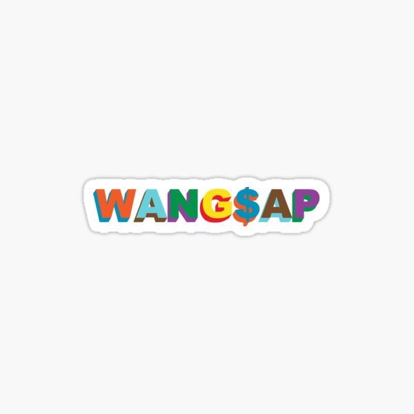 WANG$AP- Tyler, the Creator x A$AP Rocky Sticker