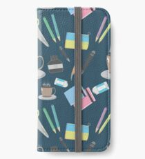 Stationary iPhone Wallet/Case/Skin