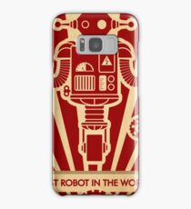 The best robot in the world. Samsung Galaxy Case/Skin