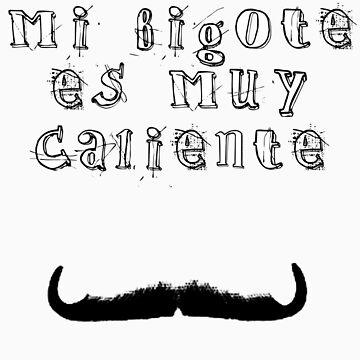 Mi Bigote (My Mustache) by gregoryvg30de