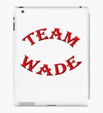 Team Wade iPad Case/Skin