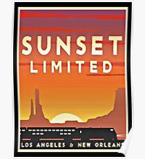 Vintage poster - Sunset Limited Poster
