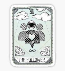 The Follower Sticker