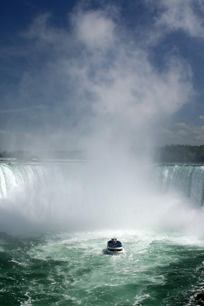 Niagara - Facing the water by Karen Millard