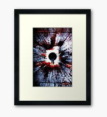 BORN Framed Print