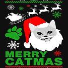Merry Catmas Santa Ugly Christmas by EthosWear