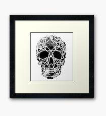 Crystal Skull Infrared Framed Print