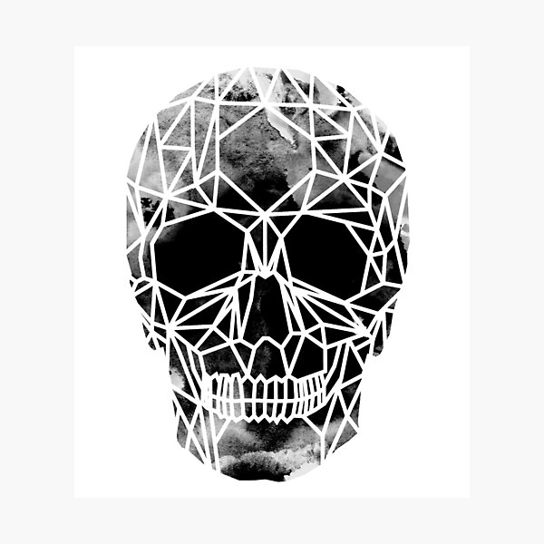 Crystal Skull Infrared Photographic Print