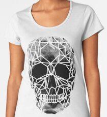 Crystal Skull Infrared Premium Scoop T-Shirt