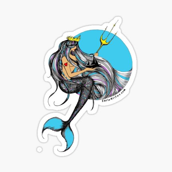 Neptune's Daughter Sticker