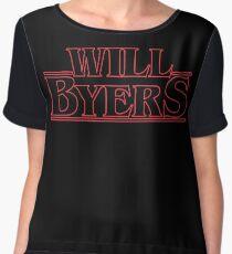 Will Byers Women's Chiffon Top