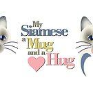 Siamese Hug by DougPop