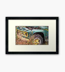 Rusting Truck Framed Print