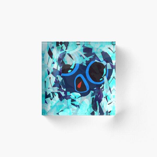 Squid No. 23 - Telekinetic Acrylic Block