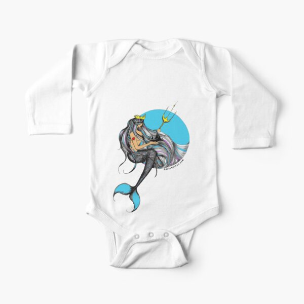 Neptune's Daughter Long Sleeve Baby One-Piece