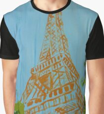 La Tour Eiffel in Spring Graphic T-Shirt