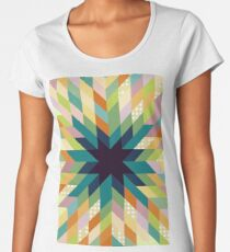 Winter Lights  Women's Premium T-Shirt