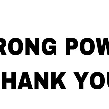 """Strong Power Thank You"" BTS  by Rosenten"