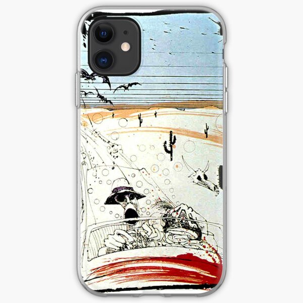 Fear and This is bat country - Loathing in Las Vegas iPhone Soft Case