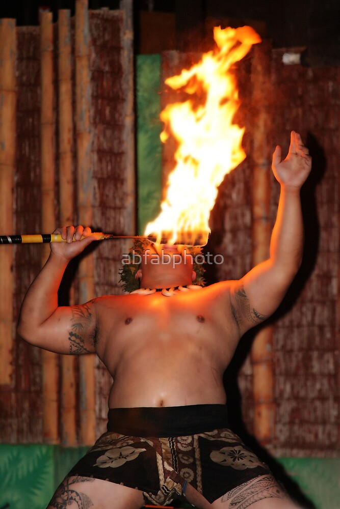 Hawaiian Flamer Thrower by abfabphoto