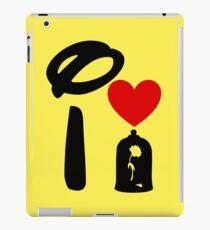 I Heart Beauty and The Beast iPad Case/Skin