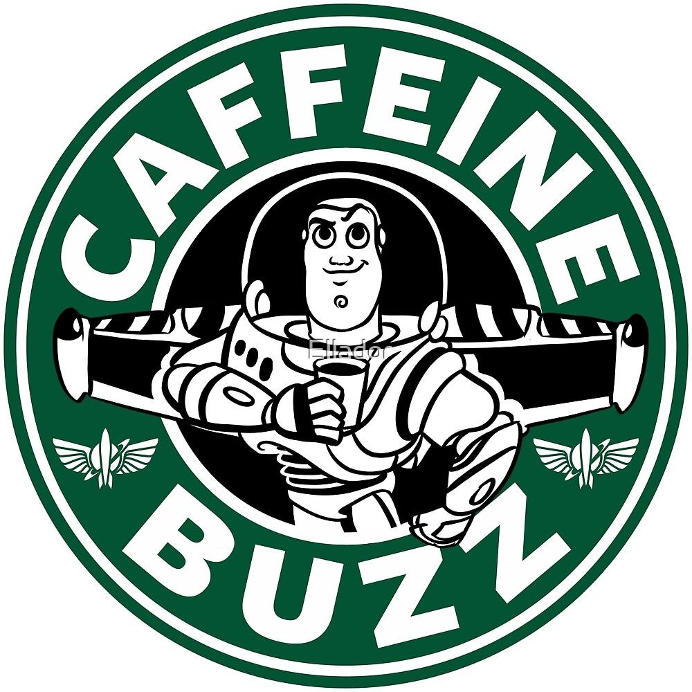 Quot Caffeine Buzz Quot By Ellador Redbubble