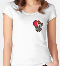 Traditional Pennywise the Dancing Clown Women's Fitted Scoop T-Shirt