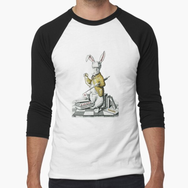 GardnerRabbit Baseball ¾ Sleeve T-Shirt