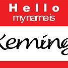 Hello my name is Keming by Rupert Russell