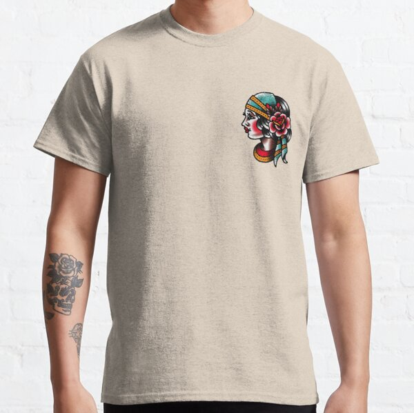 Traditional Gypsy Tattoo Piece Classic T-Shirt