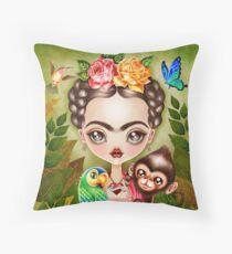 Frida Querida Throw Pillow