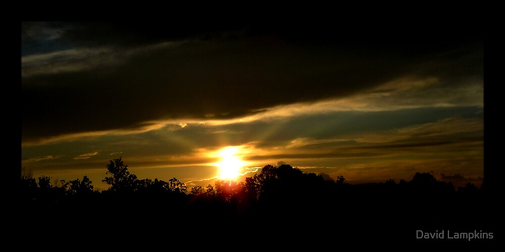 Our Setting Sun by David Lampkins