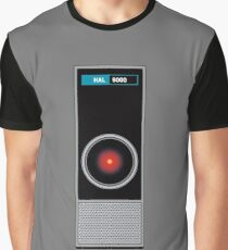 HAL 9000 - Artificial Intelligence Graphic T-Shirt