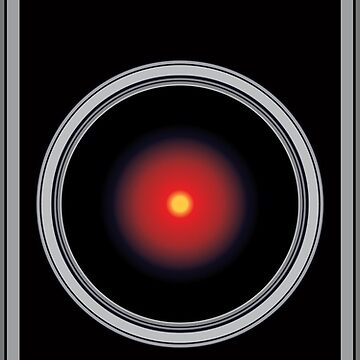 HAL 9000 - Artificial Intelligence by thedrumstick