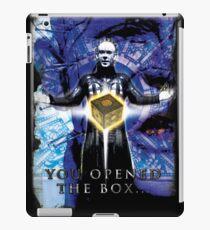 "Pinhead Hellraiser ""You Opened the Box..."" iPad Case/Skin"