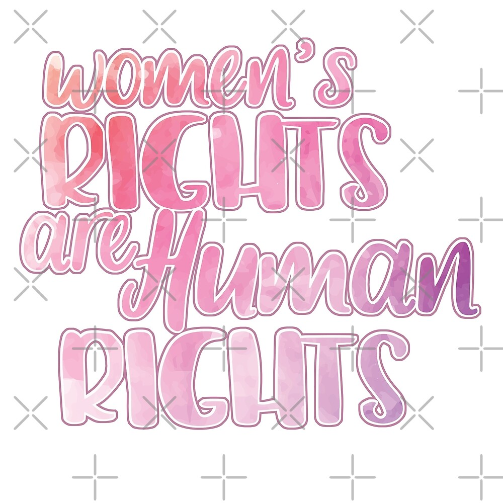 Women's Rights Are Human Rights by jitterfly