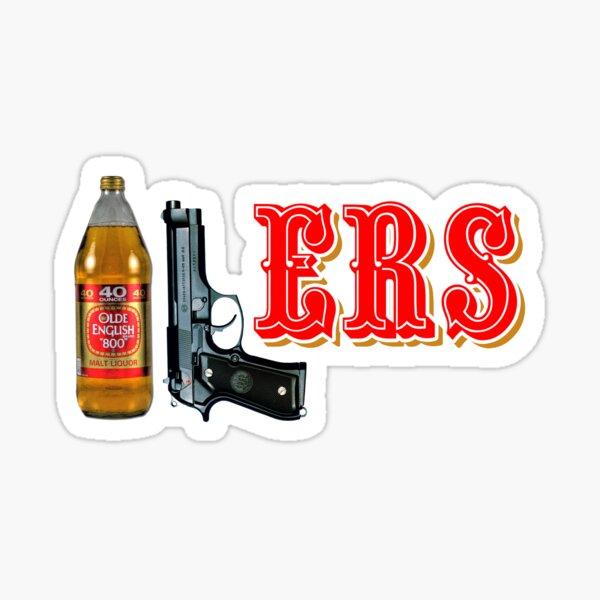 40/9 ERS 40oz 9mm Sticker