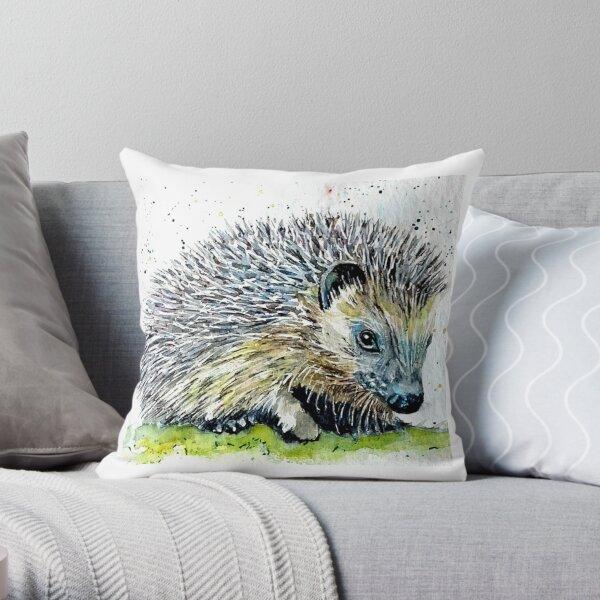Hedgehog 2 Throw Pillow