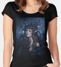 Horned crown Women's Fitted Scoop T-Shirt