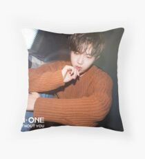 WANNA ONE NOTHING WITHOUT YOU KIM JAEHWAN Throw Pillow