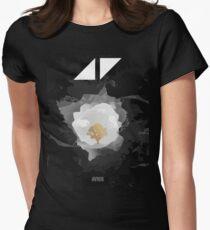 avicii Music the flower Women's Fitted T-Shirt