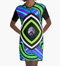 Jerry Raspberry Graphic T-Shirt Dress