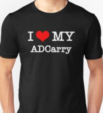 I Love My ADCarry - Black  T-Shirt