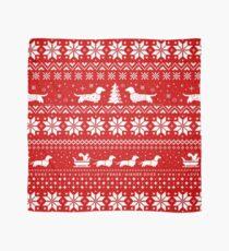 Pañuelo Dachshunds Christmas Sweater Pattern
