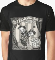 """""""Peter Peter"""" - Unfortunate Conjoined Twins Graphic T-Shirt"""