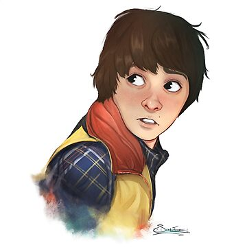 Will Byers by artofsaraelena